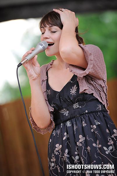 Erin Bode @ Whitaker Music Festival -- 2008.06.04