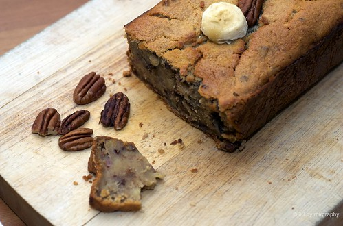 Baking therapy - banana bread