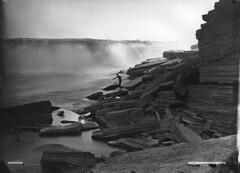 Chaudière Falls, Ottawa, ON, 1870