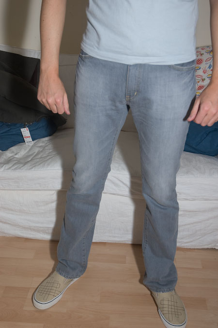 jeans from uniqlo