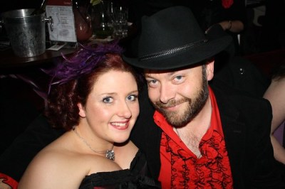 Lottie and Rick at Burlesque Night