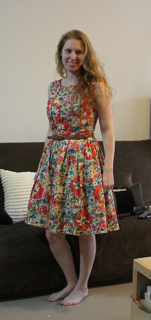 Dress: gift from a friend