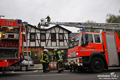 Feuer Restaurant Aarstraße 25.06.11
