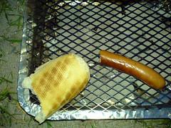 Pølse med brød