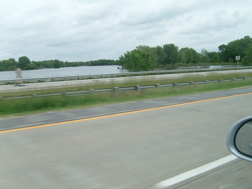 Overflowed Rock River