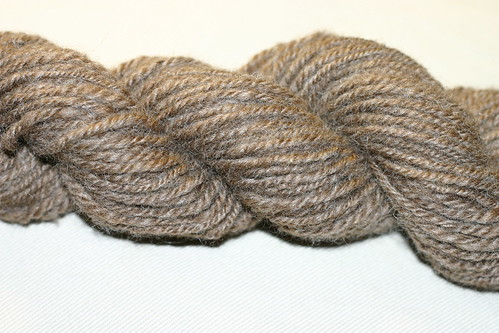 Coopworth Navajo ply closeup