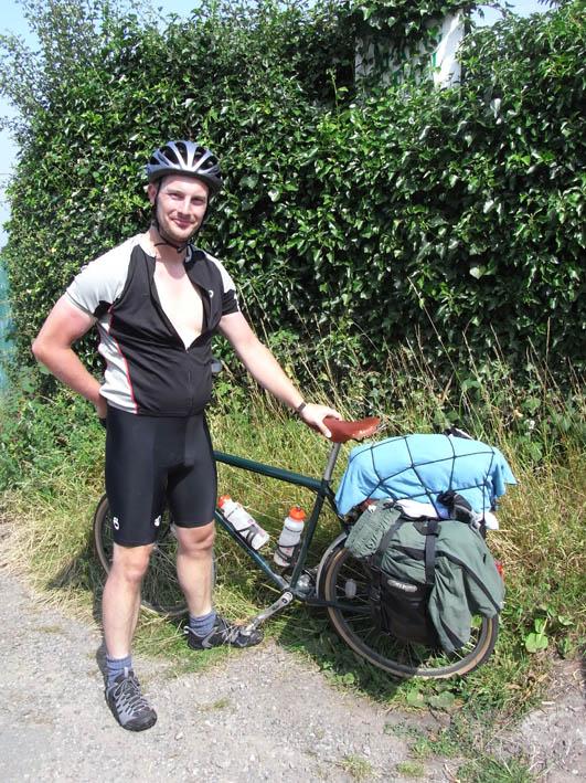 Julien an his bike