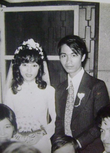 1981 - Mom & Dad's wedding