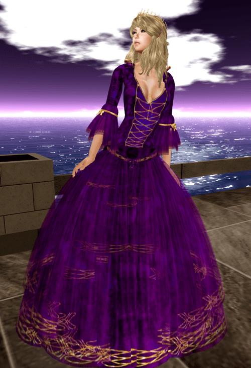 [K~*~S] Tempest - Gown - Royal