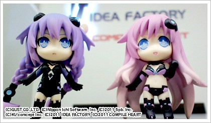 Nendoroid Petit Purple Sister and Purple Heart