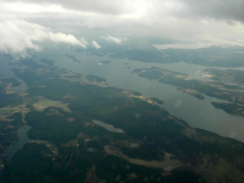 Stockholm Archipelago from the Air 3