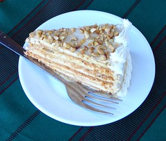 Sans Rival cake