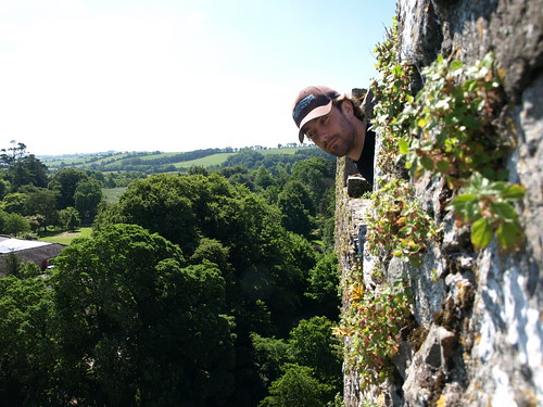 Jeff, at the top of Blarney Castle