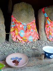 Jizo Statues - Ryoanji