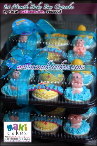 1st Month Baby Cupcakes__ - Maki Cakes