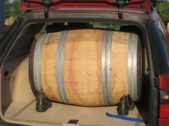 Barrel from Wineglass Cellars