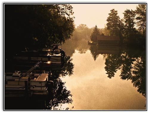 Leland River by John Levanen