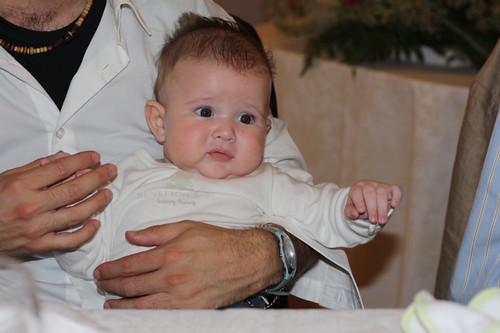 Il mio nipotino è sempre più figo!
