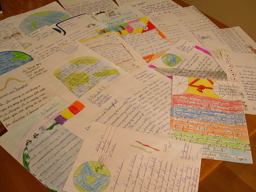 Letters from St. Patricks School, Greystones