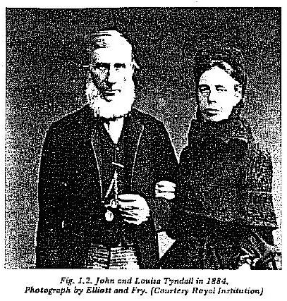 John & Louisa Tyndall in 1884