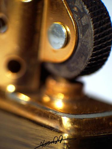 Mechanics of a Zippo