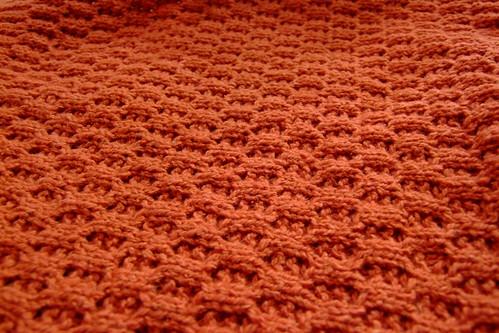 honeycomb stitch close up