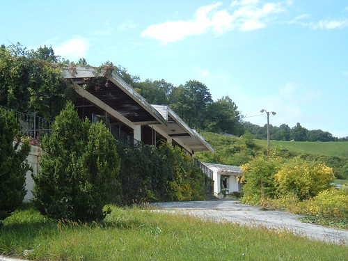 Some abandoned motel, Afton, VA