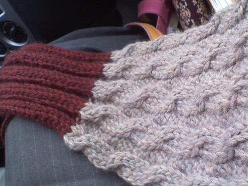 Ben's scarf with 2nd color