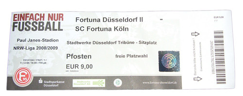Fortuna Düsseldorf II - Fortuna Köln
