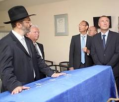 Dimanche après-midi, la communauté juive de Mulhouse a vécu un intense moment de rassemblement avec la venue du grand rabbin de France