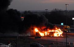 Busbrand A3 bei Medenbach 01.03.08