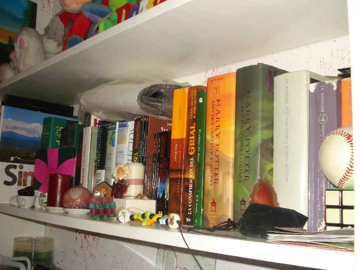 Una parte de mi librero