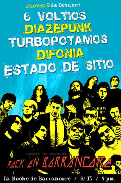 Afiche Barrancore