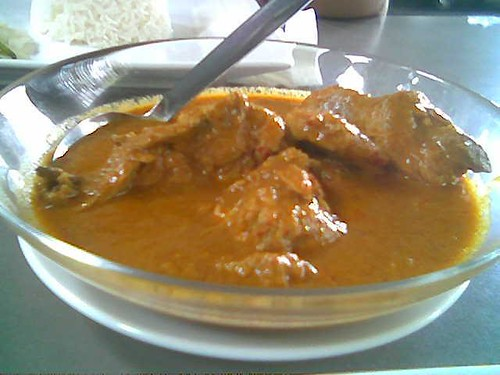 The Ark's chicken curry