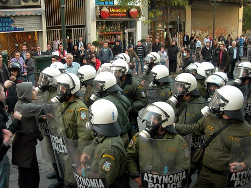 40 Protest in Athens