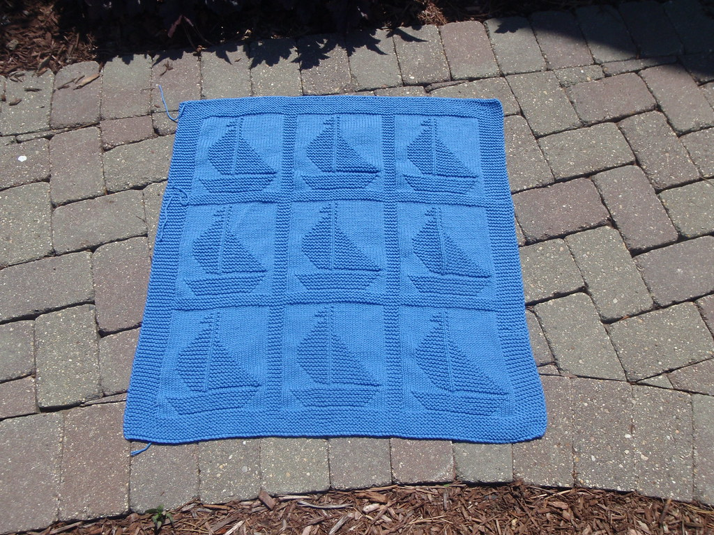 Sail Away Blanket