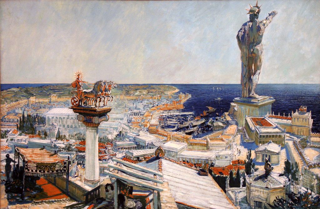 Frantisek Kupka - Colossus of Rhodos by ahisgett, on Flickr