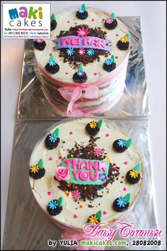 Daisy Tiramisu 2 - Maki Cakes