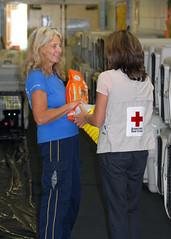 Hurricane Gustav - Covington, Louisiana Shelter 09.02.2008