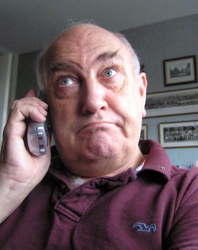 Phone call 144/365 (Year 2) by GeorgieR.