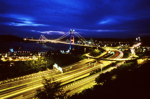 Hong Kong - Tsing Ma Bridge 青馬大橋