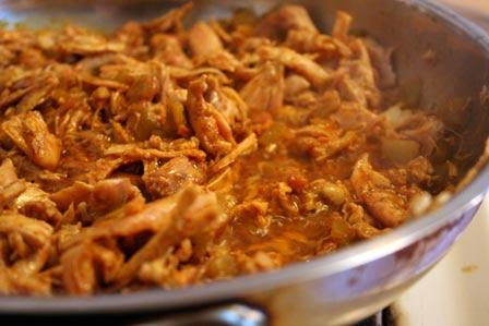 Saucy, spicy chicken