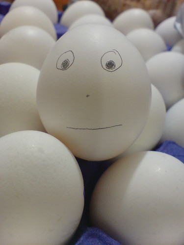 Me, huevo