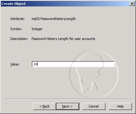 msDS-PasswordHistoryLength