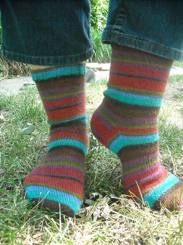 Kaffe stripe socks