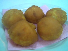 Sandakan dessert Fried icecream