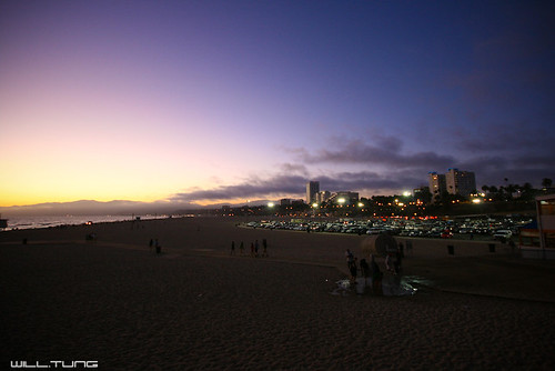 Sunset @ Santa Monica Pier