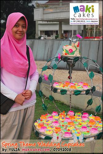 Spring Wedding Cupcakes & Me - Maki Cakes