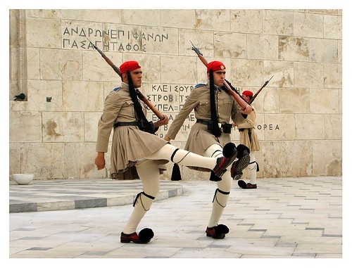 Changing of the guards - Athens by you.