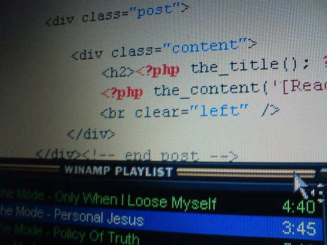 Wordpress + Depeche